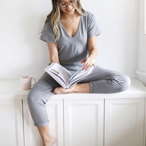 Smash + Tess Sunday Romper Cinder-Ella Grey
